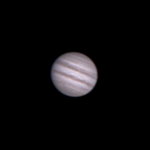 Jupiter bez použití barlowa