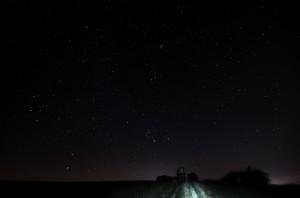 Hvězdárna pod zimními souhvězdími