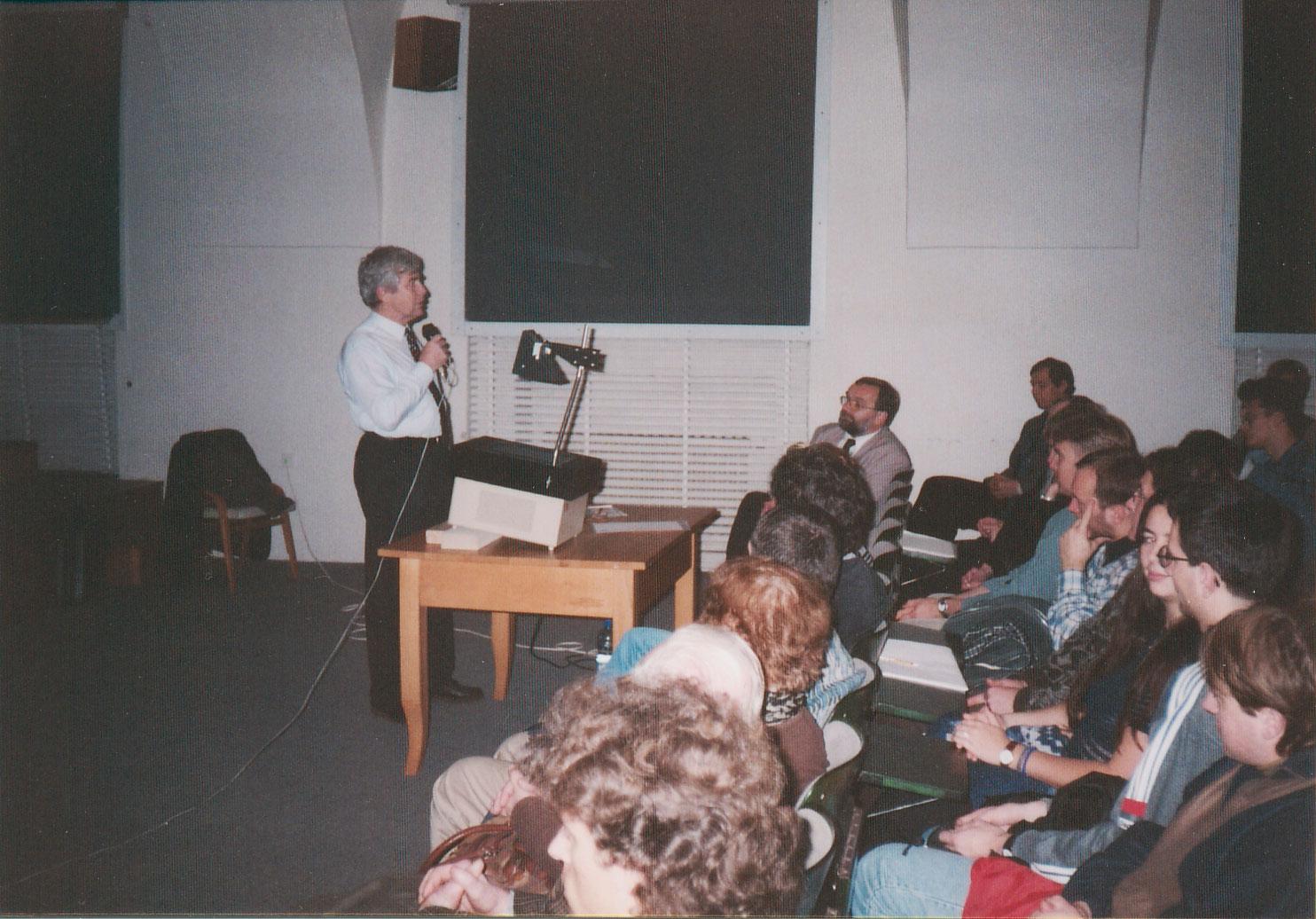 Přednáška Jiřího Grygara
